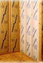kraft paper insulation batts