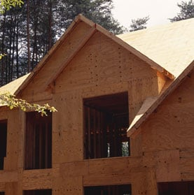 Sheathing exterior walls Materials for exterior walls