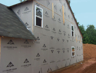 Sheathing exterior walls for Exterior sheathing options