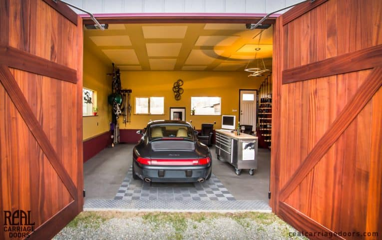 real carriage garage doors