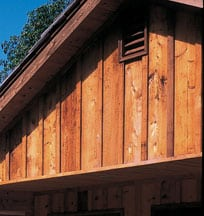 Natural wood siding can be painted or stained. Photo: Weyerhaeuser