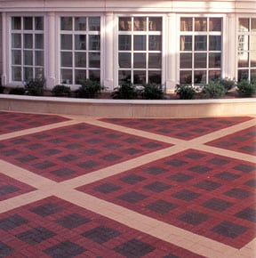 Brick paving is very durable and beautiful.