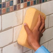 Grouting & Finishing Wall Tiles