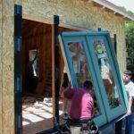 installing clad patio door