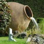 ceramic pot water feature