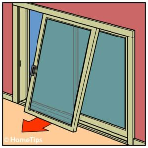 sliding door removal