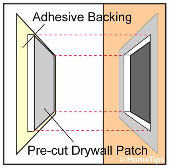 Sheetrock repair patch