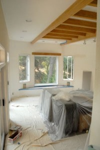 draping room when painting
