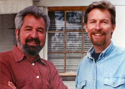 Bob Vila and Don Vandervort