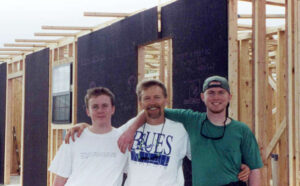 Building Habitat Houses in Mississippi