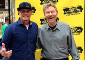Vanilla Ice and Don Vandervort at the National Association of Home Builders show.