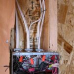 rough wiring of switch box