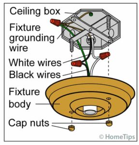 replace light fixture 1