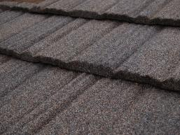 Stone-coated steel roofing shingle