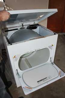 How To Open A Clothes Dryer For Repairs