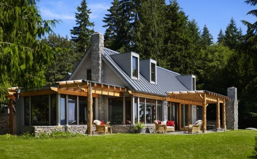 Pros cons of metal roofing for Tin roof house designs