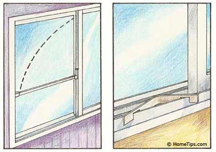childproofing sliding windows