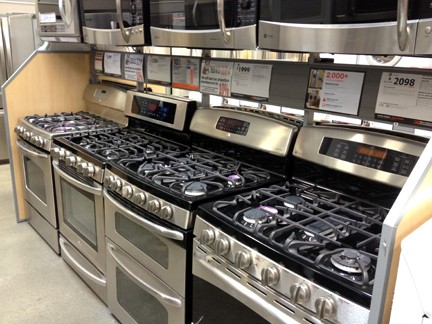 Buying ranges ovens cooktops - Gas electric oven best choice cooking ...
