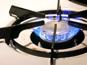 gas burner flame problem