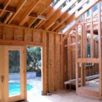 house framing of remodel