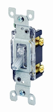 single pole light switch