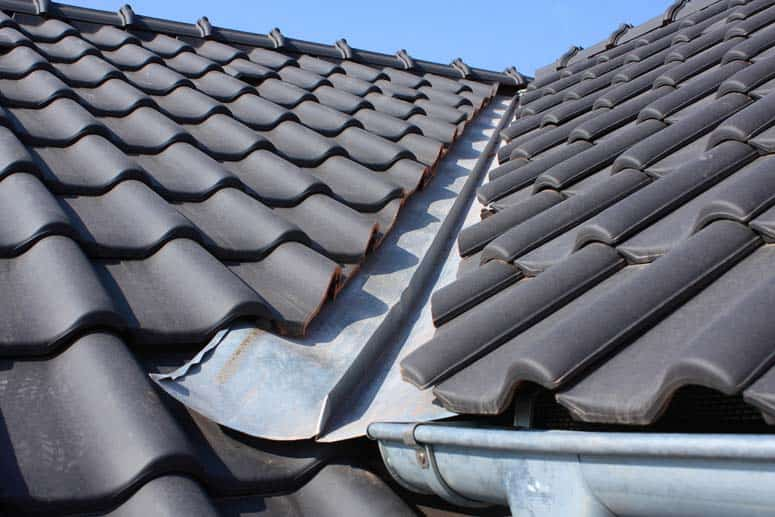 dark glazed tile roofing