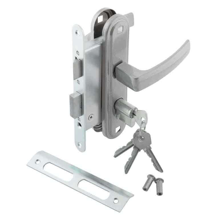 Mortise Lockset For An Exterior Door Is Made To Insert Into A Rectangular  Cut Out