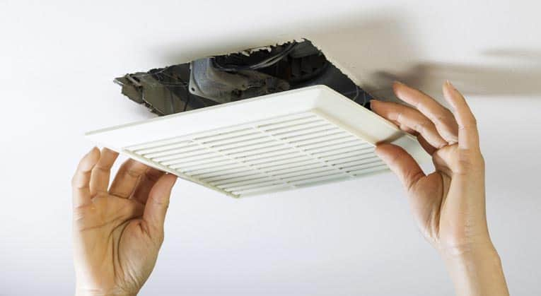 How to repair a bathroom or kitchen fan yourself for Bathroom exhaust fan cleaning service
