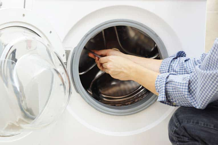 Front-loading washer repairs