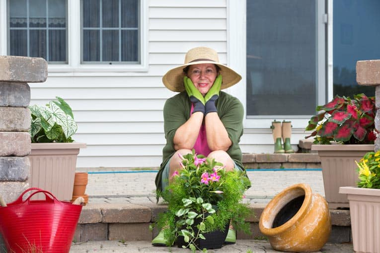 Planting in containers is a great way to create a garden that's both beautiful and flexible.