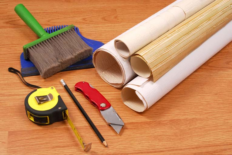 Wallpapering Is A Very Approachable DIY Job If You Have The Right Tools And Supplies