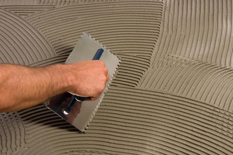 Applying Thinset Mortar For Tile - Best thinset for large porcelain tile