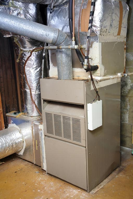 Sometimes it's difficult to tell whether a furnace is over-the-hill. If it has a pilot light, it's probably time for a new one.