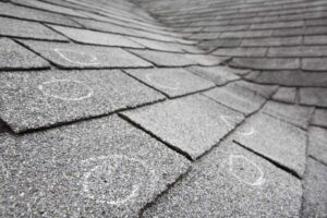 identifying damaged shingles