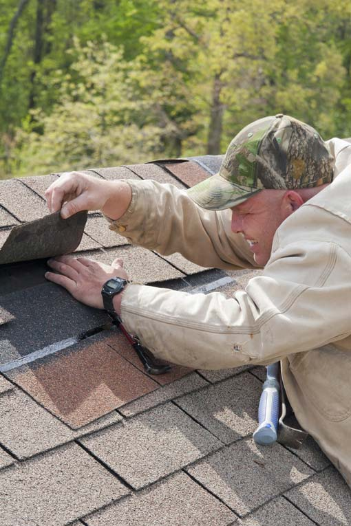 Replace a Badly Damaged Asphalt Shingle