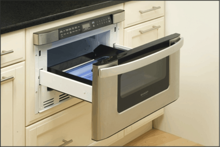 Bon A Microwave Drawer Offers Exceptional Convenience Without Sacrificing  Coveted Counter Space. Sharp Electronics