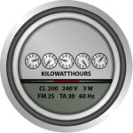 mechanical electric meter