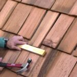 how to replace wood roof shingle