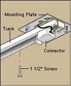 How to install track lighting mounting track light mozeypictures