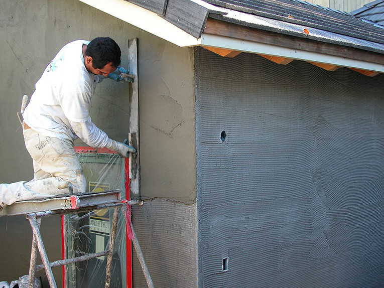 Stucco Siding Application