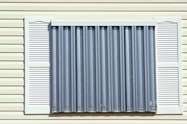 How To Install Metal Hurricane Shutters