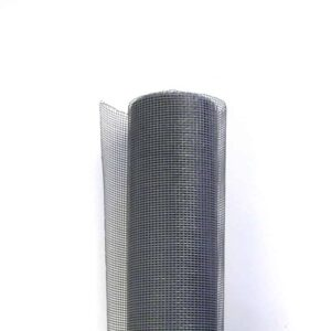 A roll of fiberglass mesh in white background.