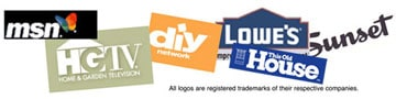 HomeTips home improvement clients logos